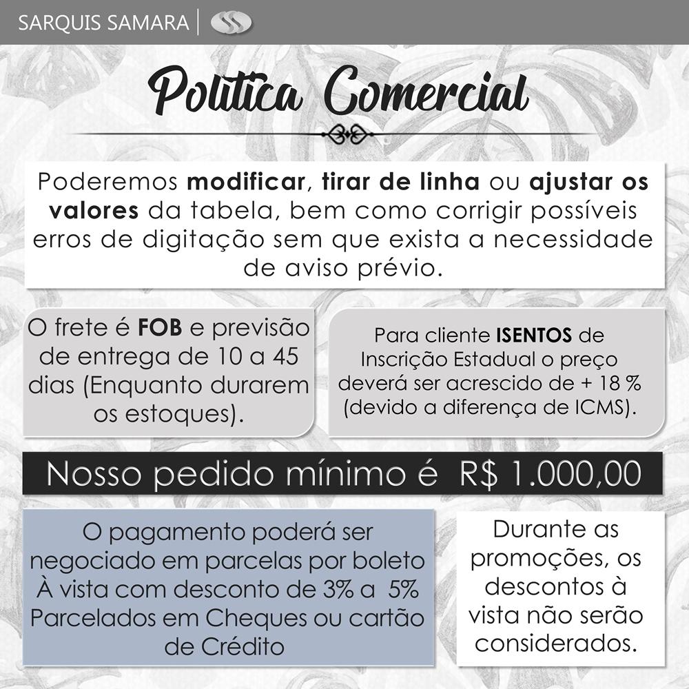 POLÍTICA COMERCIAL | SARQUIS SAMARA